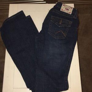 Slight flare jeans